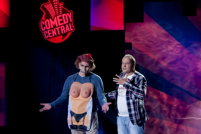 Der Bauchredner in Comedy Central